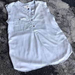 7 for all Mankind Women's Size Small Denim Top